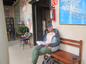 Josh studying Spanish at Instituto Jovel