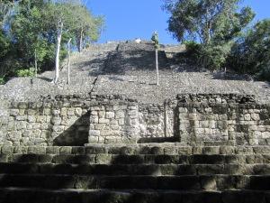 Temple 1, Calakmul