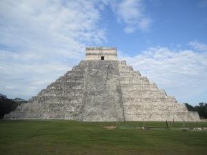 The grand pyramid at Chichen Itza