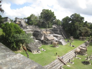 Grand Plaza 2 at Tikal