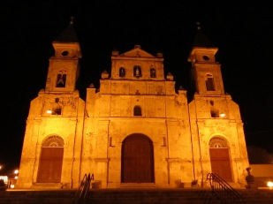Old church in Granada, Nicaragua