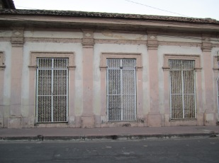 Old buildings scattered about Granada, Nicaragua