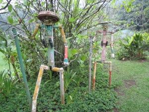 Cool art at Lands in Love. Gone birding!