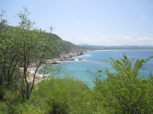 Pacific coast, Mexico