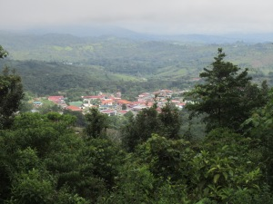 A view of San Vito taken from Finca Cántaros