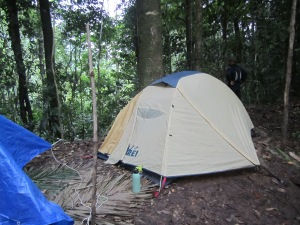 Base camp at Rancho  Plastico