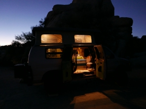 Camping out in style at Joshua Tree National Park