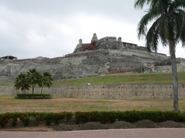 The Castillo San Felipe de Barajas
