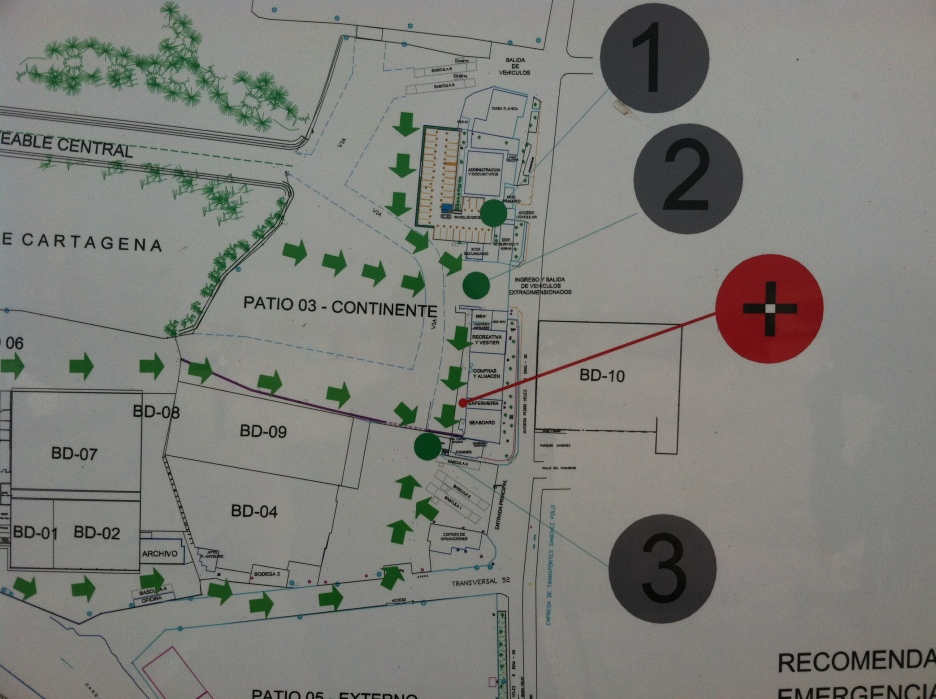 Map of the COMPAS Yard