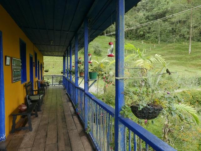 The lodge at Rio Blanco