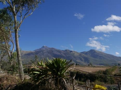 Volcano Cotacachi, Ecuador