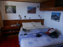 Our cabin on the Angelito